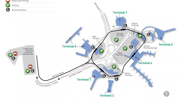 JFK Airport Terminals 7 & 8
