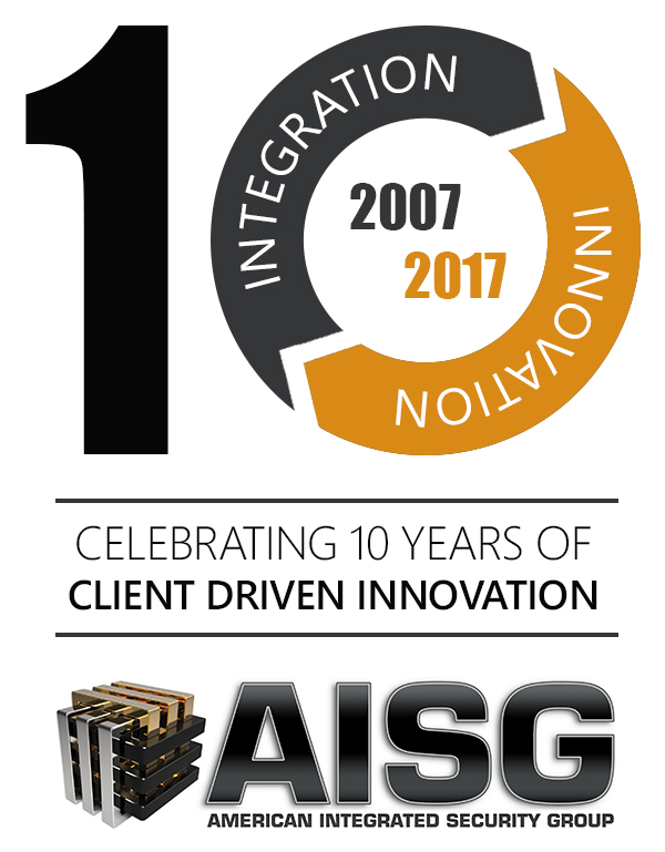 AISG 10 Year Anniversary Commemorative Logo