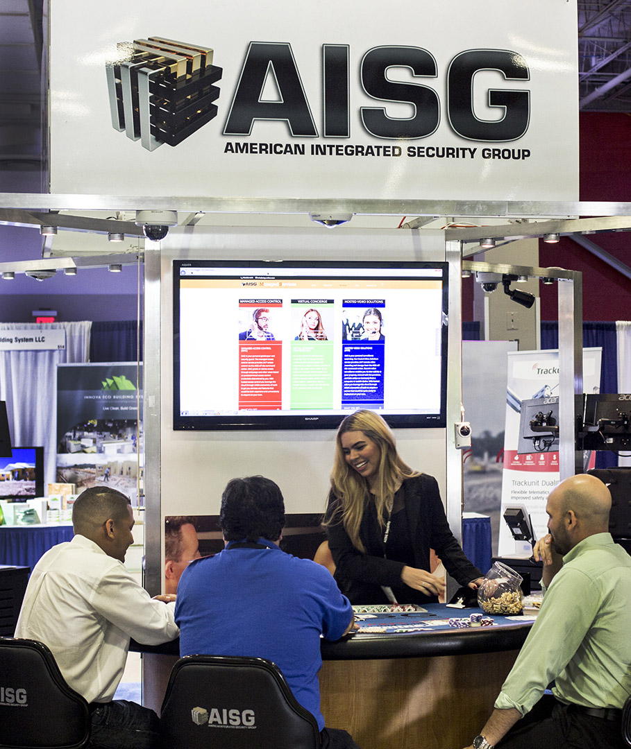 AISG Booth at MIACON