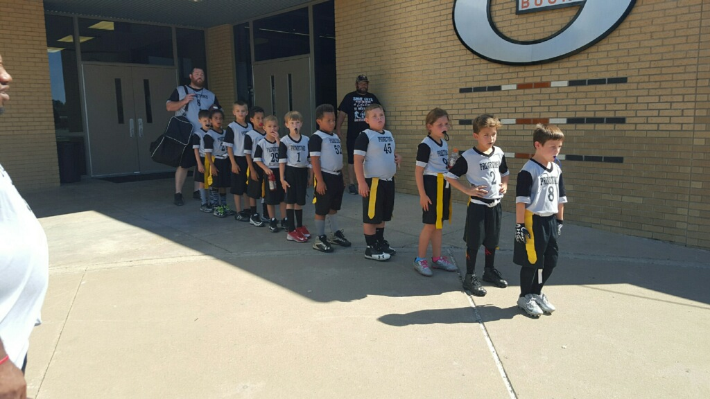 The Gilmer Youth Football Team gets a New Sponsor