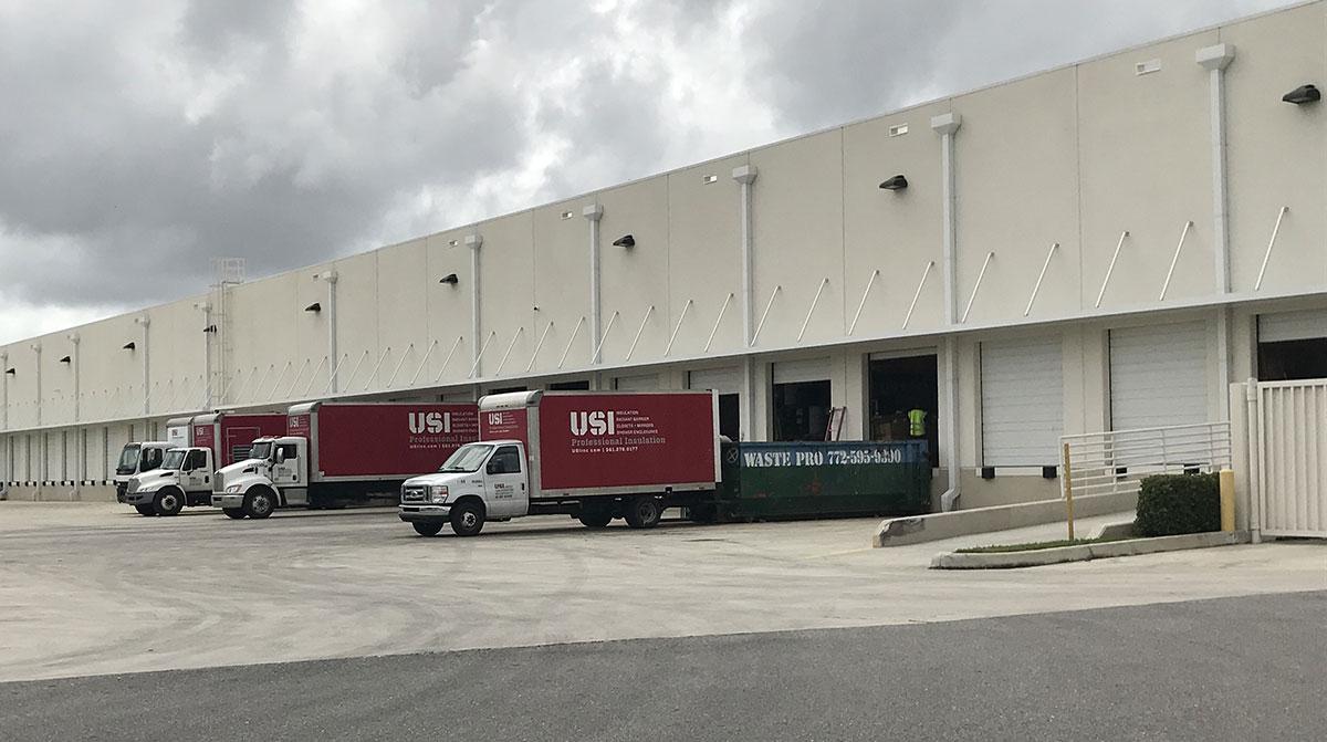 McCraney commercial building loading bay